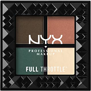 NYX Cosmetics Full Throttle Shadow Palette Explicit