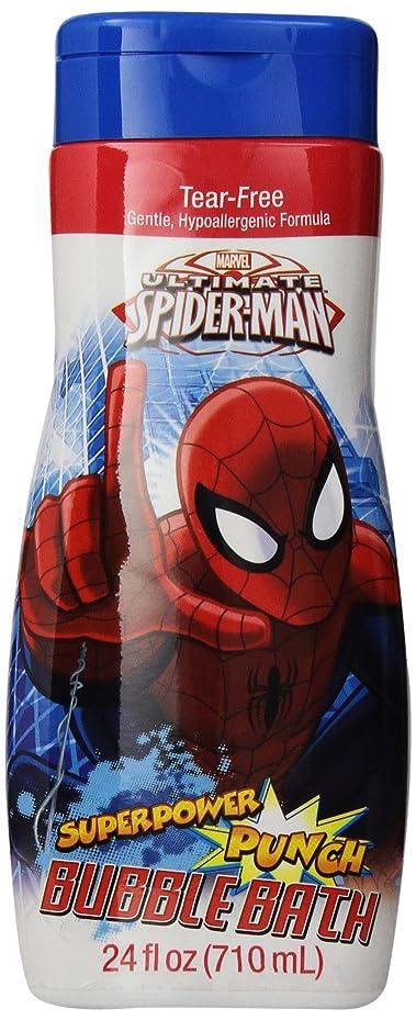 天才サラミホバートSpiderman Bubble Bath Superpower Punch 710 ml (並行輸入品)