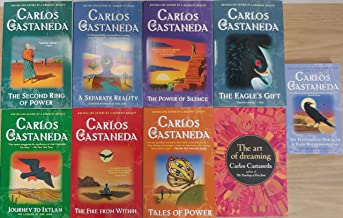 Carlos Castaneda's 9 Book Set: The Teachings of Don Juan, A Separate Reality, Journey to Ixtlan, Tales of Power, The Secon...