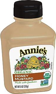 Annie's Organic Honey Mustard 9 oz Bottle