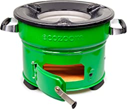 EcoZoom Jiko Rocket Survival Stove - Portable Charcoal Camp Stove for Camping, Outdoor and Emergency Preparedness
