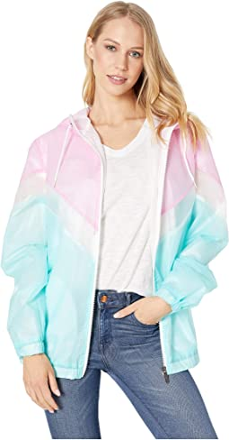 Translucent Color Block Jacket