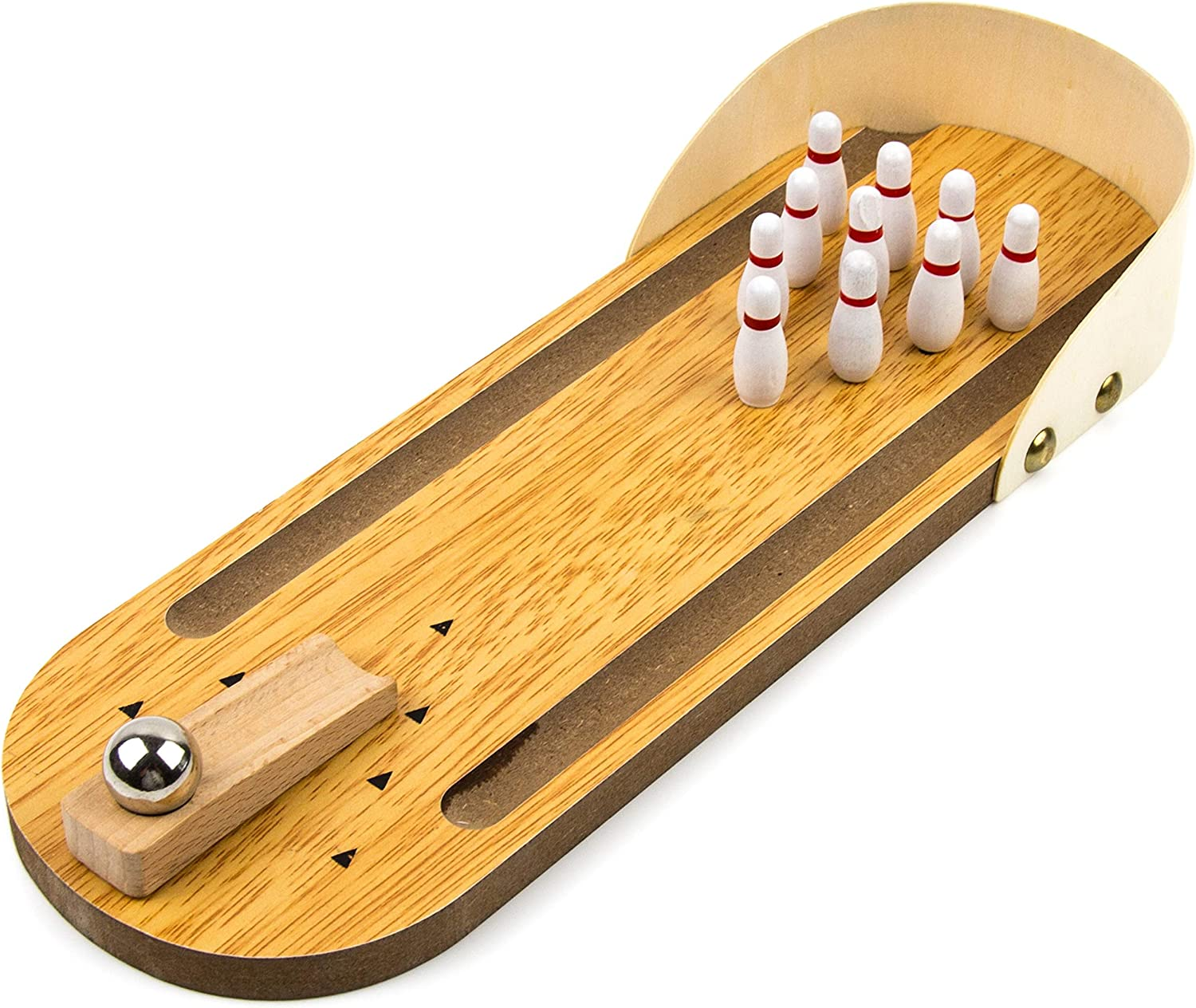 online shopping Toysery Wooden Mini Bowling Game - Material Premium for Ki Fashionable Safe
