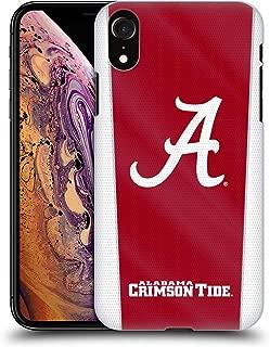 Official University of Alabama UA Banner Hard Back Case Compatible for iPhone XR