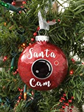 Santa Cam Ornament, Santa Spy Camera, Christmas Ornament, Santa Camera, Funny Christmas Ornament, Kids Ornament