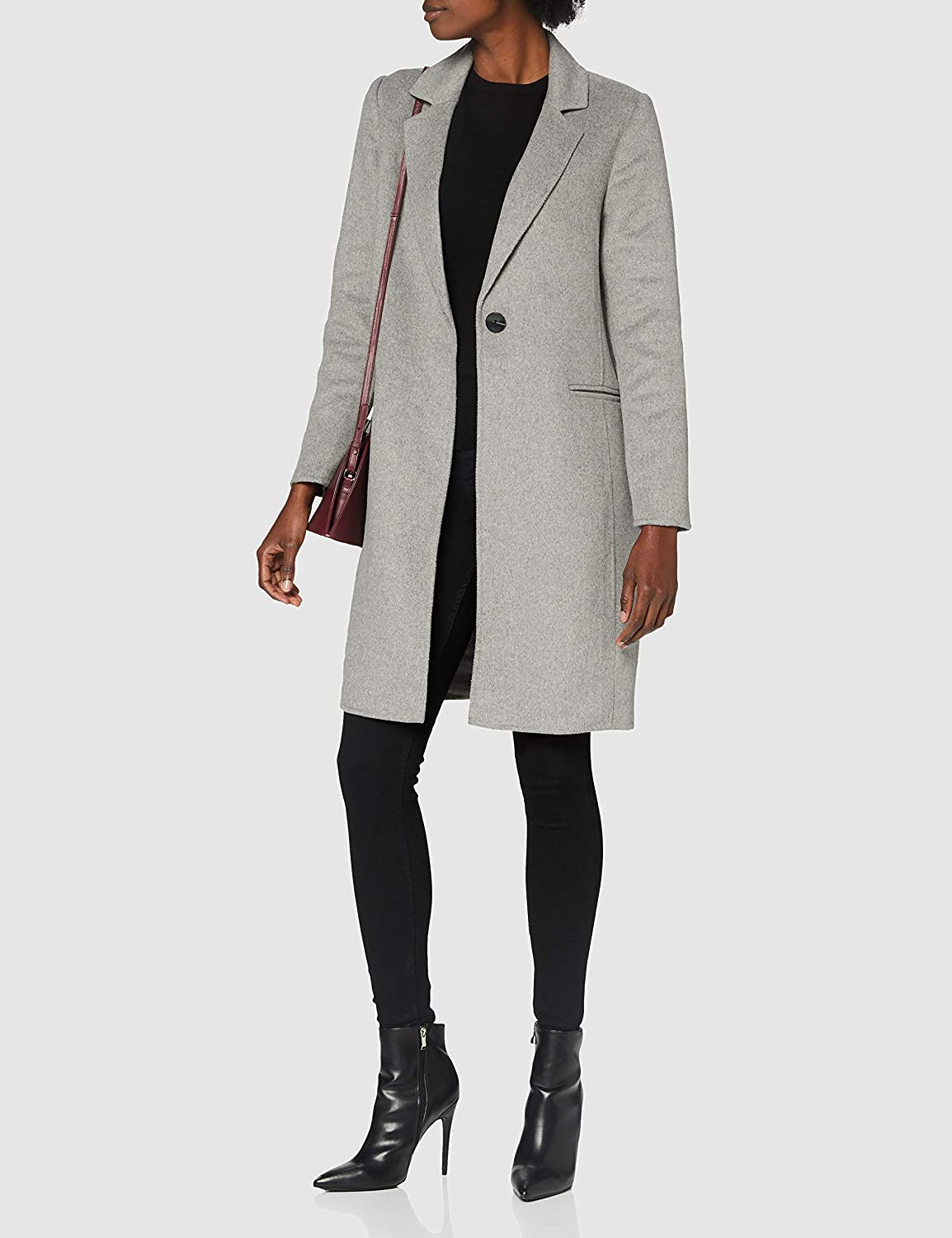 Only Onlmilano Life Wool Coat CC Otw Cappotto Donna