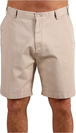 Big & Tall True Khaki Flat Front Short