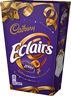 Original Cadbury Chocolate Eclairs Imported From The UK England The Very Best Of British Chocolate Candy Eclairs Smooth Ce...