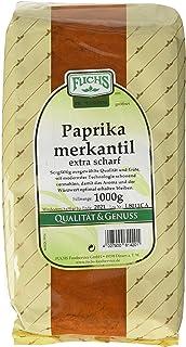Fuchs Paprika Merkantil extra scharf, 2er Pack 2 x 1 kg