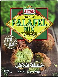 Ziyad Falafel Dry Mix, Non-GMO, Gluten-Free, vegan, 100% All-Natural, No Additives, No Preservatives, Veggie Burger Mix, 1...