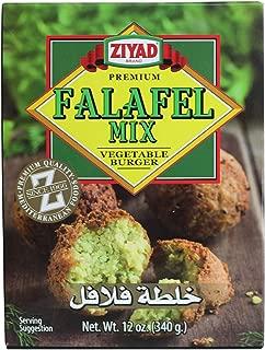 Ziyad 100% All Natural Falafel Dry Mix, Non-GMO, No Preservatives, No Additives, Gluten-Free, Vegan, Veggie Burger Mix, 12 Oz
