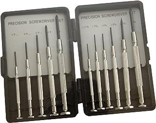 エスコ 11本組[+-]ドライバーセット(精密用) EA552GC