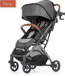 born free LIVA Compact Fold Stroller - Lightweight Stroller with Compact Fold and Lightweight Frame - Oversized Canopy and Large Storage Basket
