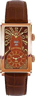 [クエルボ・イ・ソブリノス]Cuervo y Sobrinos 腕時計 紳士用 デュアルタイム 1124-8ATG メンズ 【正規輸入品】