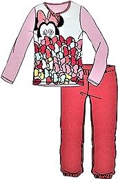 Pyjama fille Mickey Minnie Long 5 ans Rose B2WD229