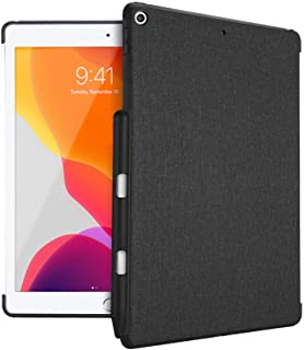 ProCase iPad 10.2 8th 2020 / 7th Generation 2019 Back Case with Pencil Holder, Companion Back Cover Protective Case, Compa...