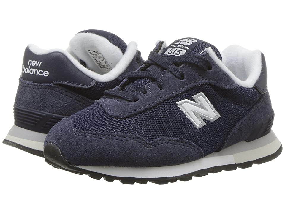 New Balance Kids IC515v1 (Infant/Toddler) (Navy/White) Boys Shoes