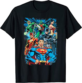 Justice League Justice is Served T Shirt T-Shirt