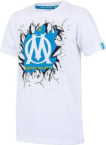 OLYMPIQUE DE MARSEILLE T-Shirt Om - Collection Officielle Taille Enfant