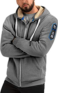 Hoodies | Mens Heavyweight Zip Up - Artic Hoodie