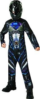 Saban–i-630715s–Disfraz clásico Power Rangers–Negro–Talla S
