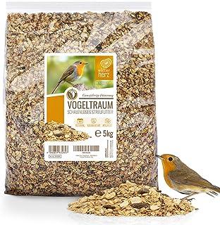 Rêve d'Oiseau - sans Coquille - Graines pour Oiseaux Sauvages sans Blé I Nourriture pour Oiseaux de Qualité Supérieure I G...
