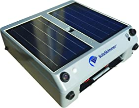 SolaSkimmer – Automatic Pool Cleaner That's Solar Powered – Pool Skimmer That Removes Leaves & Debris Before it Sinks – Cordless, Robotic Pool Cleaner for inground Pools & Above Ground Pools