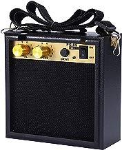 Asmuse Mini Amplificador guitarra 5W Combo Bajo Eléctrico Instrumentos Amp con efecto de overdrive y Batería Recargable