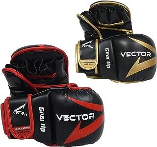 Maya Hide Leather Hybrid Sparring Grappling Boxing Muay Thai Punching Bag Training UFC MMA 7oz Gloves Galvarino Series – S/M/L/XL