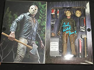 TED WHITE Signed Jason Voorhees Part 4 NECA FIGURE Autograph Friday the 13th