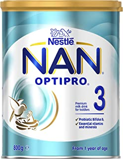 NESTLE NAN OPTIPRO 3, Toddler 1+ Years Milk Formula, 800g