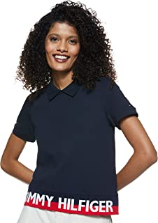 Tommy Hilfiger Women's Khloe Pq Polo Ss Polo