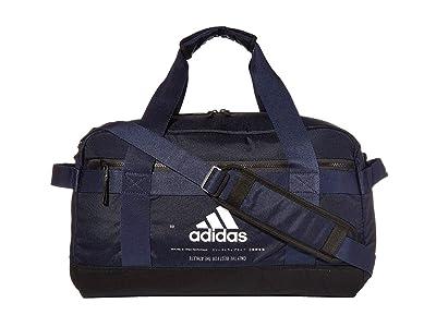 adidas Amplifier II Duffel (Legend Ink Blue/Tech Ink Grey/White) Bags