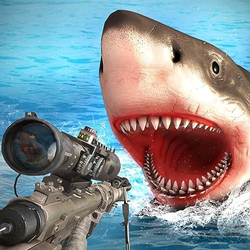 Survivor Sharks Game: Shooting Hunter Action-Spiele
