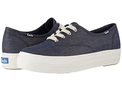 Keds Triple CVO Lurex Denim (Denim Multi) Women