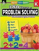 180 Days of Problem Solving for Kindergarten – Build Math Fluency with this Kindergarten Math Workbook (180 Days of Practice)