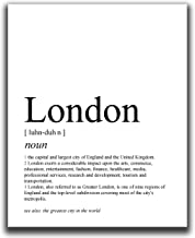 London Wall Decor - 8x10