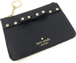 3957f1ebfef Kate Spade New York Laurel Way Bitsy Card Case Wallet Key Ring Jeweled Black
