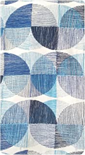 Project 62 Blue & Grey Geometric Shower Curtain, 72.0 inches (H) x 72.0 inches (W)