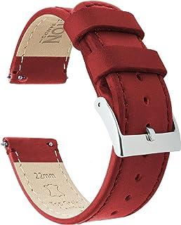 3037e738f BARTON Quick Release - Top Grain Leather Watch Straps - Choice of Colour &  Width -
