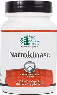 Ortho Molecular Product Nattokinase - 90 Softgels