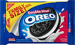 Oreo Double Stuf Chocolate Sandwich Cookies, 20 Ounce (Pack of 12)