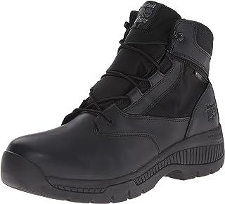 Timberland PRO Men's 6 Valor Soft-Toe Waterproof Side-Zip Work Boot