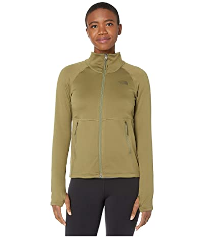 The North Face Canyonlands Full Zip (Burnt Olive Green) Women