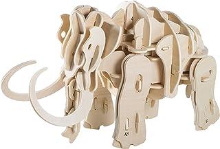 Thumbs up Walking Mammut – byggsats funktionsmodell av trä