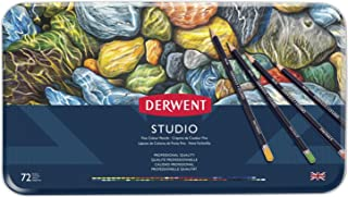 Derwent Studio Colouring Pencils, Set of 72, Professional Quality, 32201