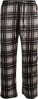 Men's Ultra Soft Fleece Plaid Pajama Lounge Pants