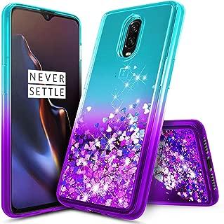 oneplus 6t liquid glitter case
