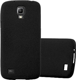 54a5761321c Cadorabo Funda para Samsung Galaxy S4 Active en Frost Negro - Cubierta  Proteccíon de Silicona TPU