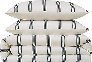 Truly Soft Everyday Millenial Stripe Duvet, Twin XL